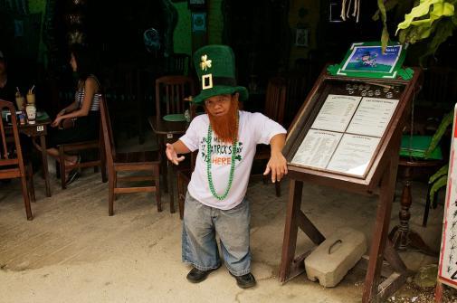 Weird Theme Restaurant - Hobbits - Phillipines - St Patricks Day