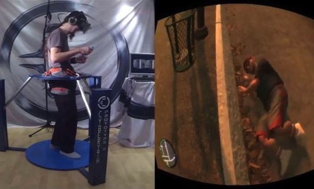 VIDEO: Man Plays 3D Virtual Reality Version Of Grand Theft