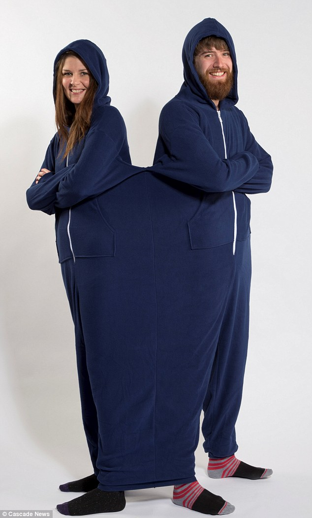Introducing The Twinsie Like A Onesie But For Couples