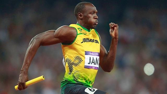 Usain Bolt Aß Huhn 10...