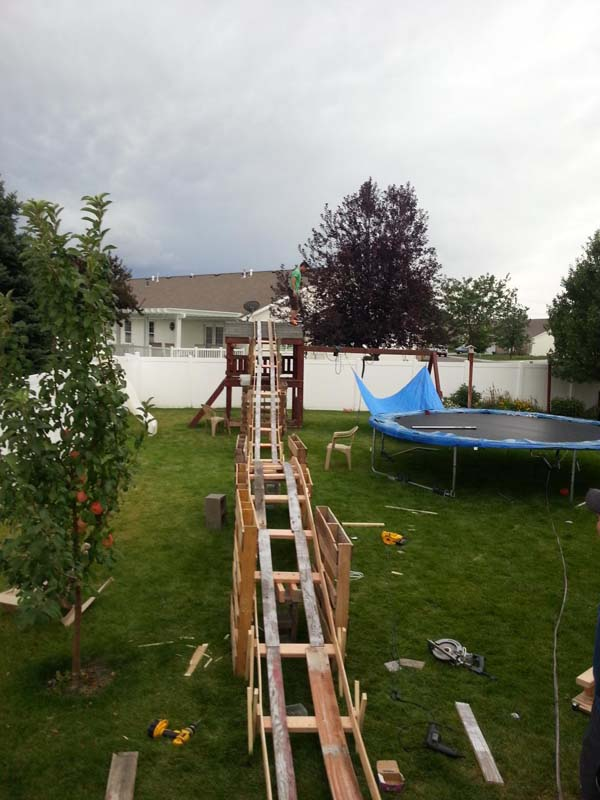 Backyard Rollercoaster 3