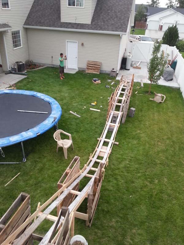 Backyard Rollercoaster 4