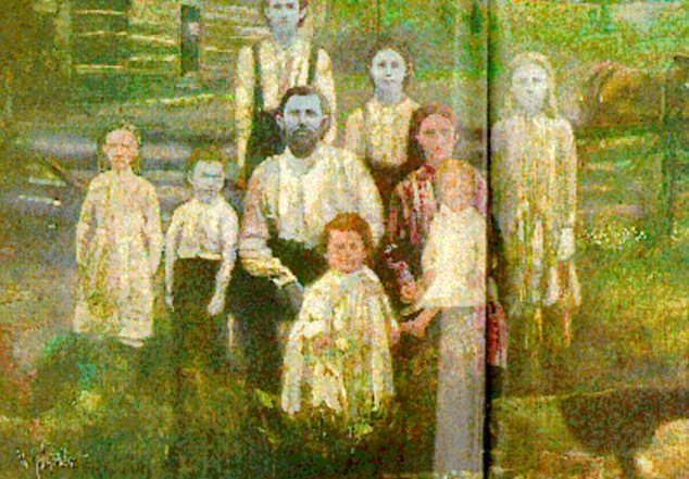 Blue Fugates - Kentucky Family - Old Photo