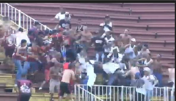 Brazilian Final Day Riots 2