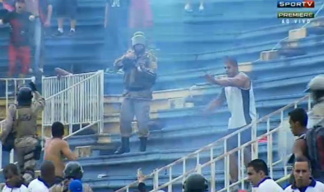 Brazilian Final Day Riots 6
