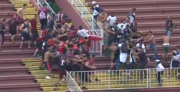 Brazilian Final Day Riots 7
