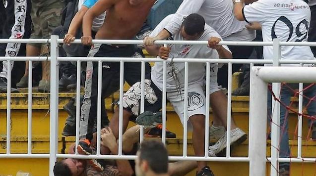 Brazilian Final Day Riots
