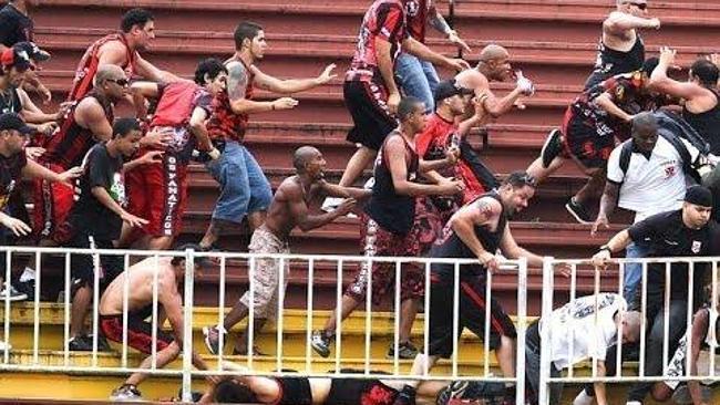 Brazilian Final day Riots 8