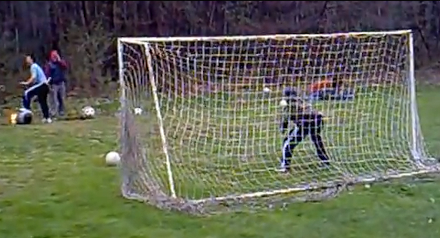 Cannoball Goalkeeping Drill