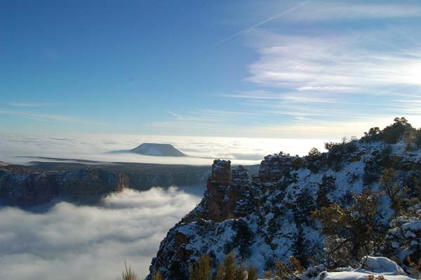 Grand Canyon Temperature Inversion 1