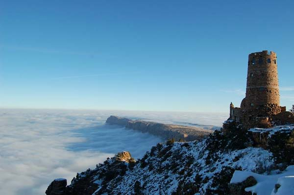 Grand Canyon Temperature Inversion 10