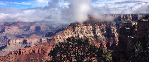 Grand Canyon Temperature Inversion 11