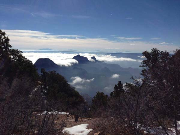 Grand Canyon Temperature Inversion 9