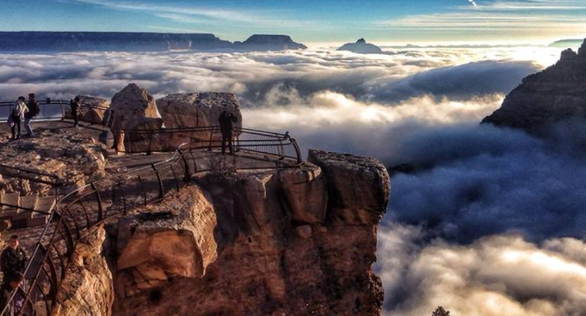 Grand Canyon Temperature Inversion Featured