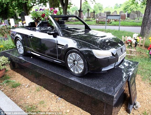 Gravestones Weird -  car 2
