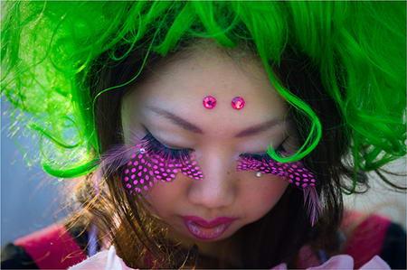 Harajuku - Green Hair