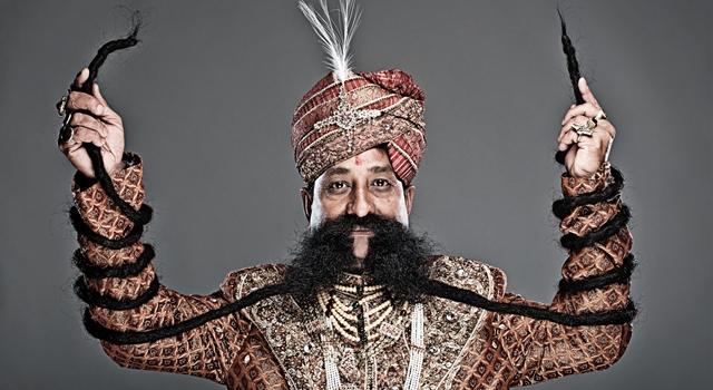 Longest Weirdest Things - Ram Singh Chauhan moustache header