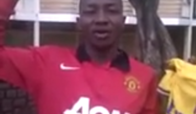 Man United Fan Becomes Arsenal Fan