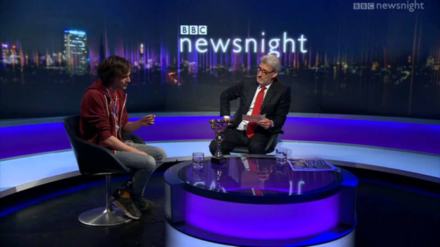 Memory Champion Newsnight
