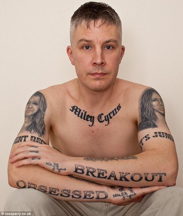 Miley Cyrus Fans Tattoos 2