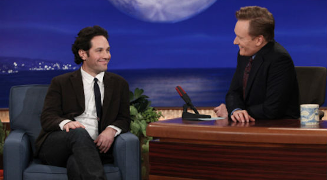 Paul Rudd Conan O'Brien Prank