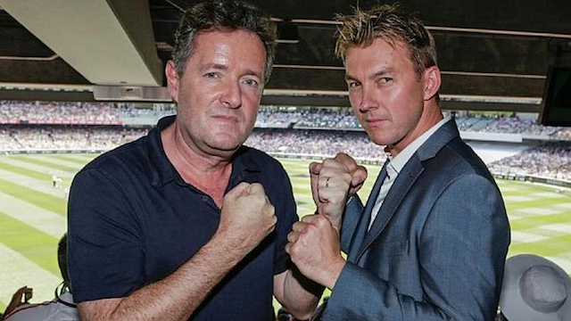 Piers Morgan Brett Lee