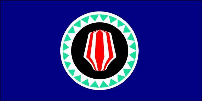 Smallest Things - Alphabet - Bougainville Flag