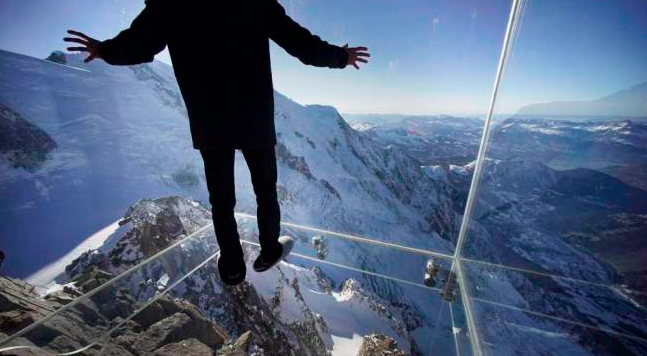 The Chamonix Skywalk