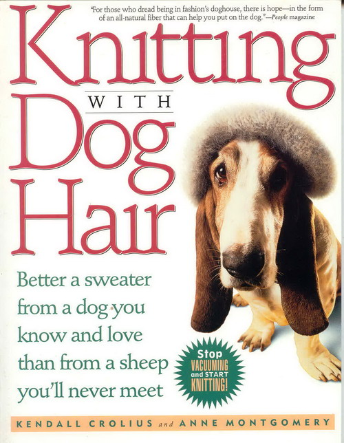 Weird Mental Book Covers - Knitting With Dog Hair