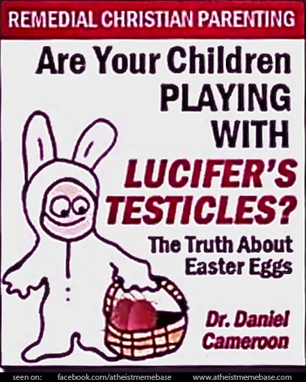 Weird Mental Book Covers - Lucifers Testicles 2