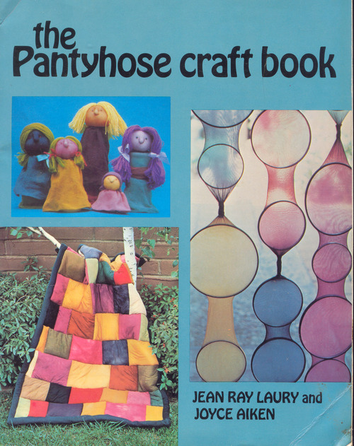 Weird Mental Book Covers - Panty hose craft