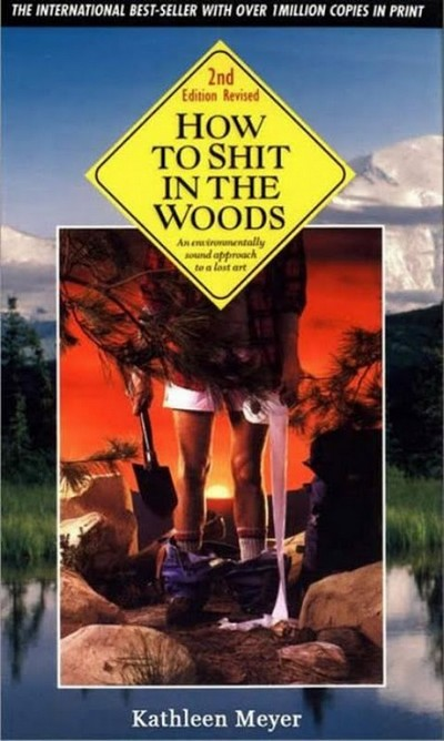 Weird Mental Book Covers - Poo in the woods