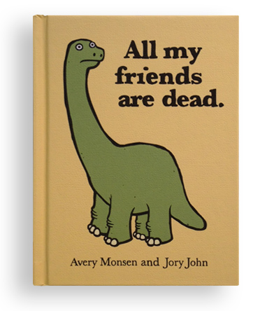 Weird Mental Book Covers - friends are dead