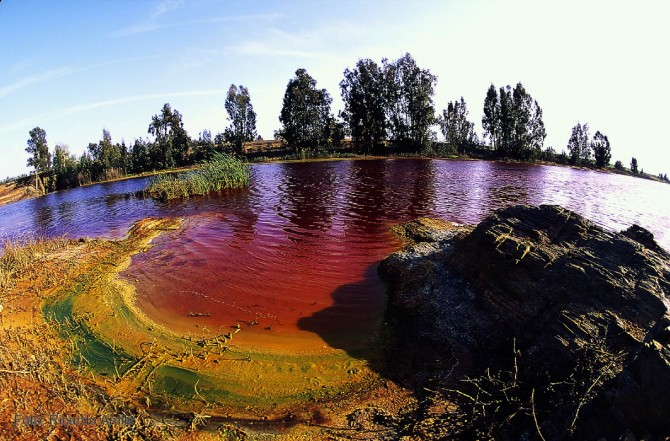 Weird Places - River of Blood - Rio Tinto