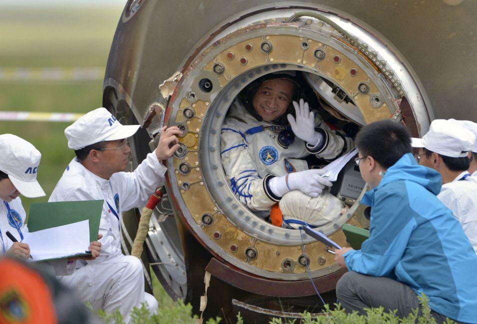 astronaut nie haisheng