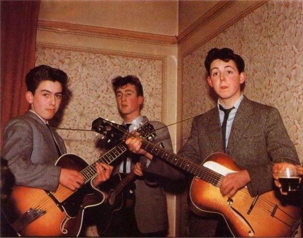 beatles, 1957