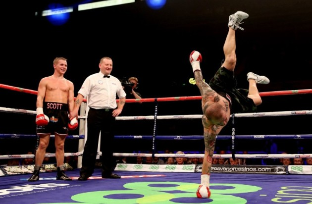 boxing dancing