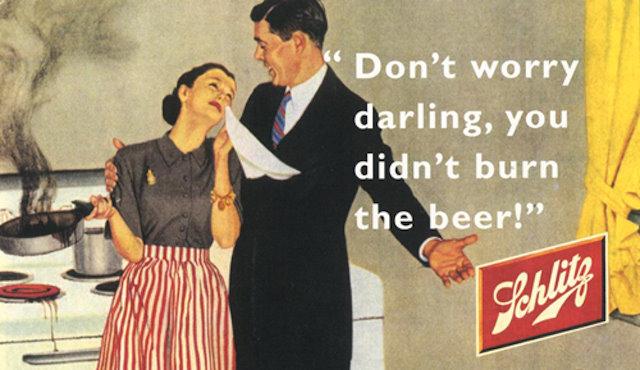 burn beer advert