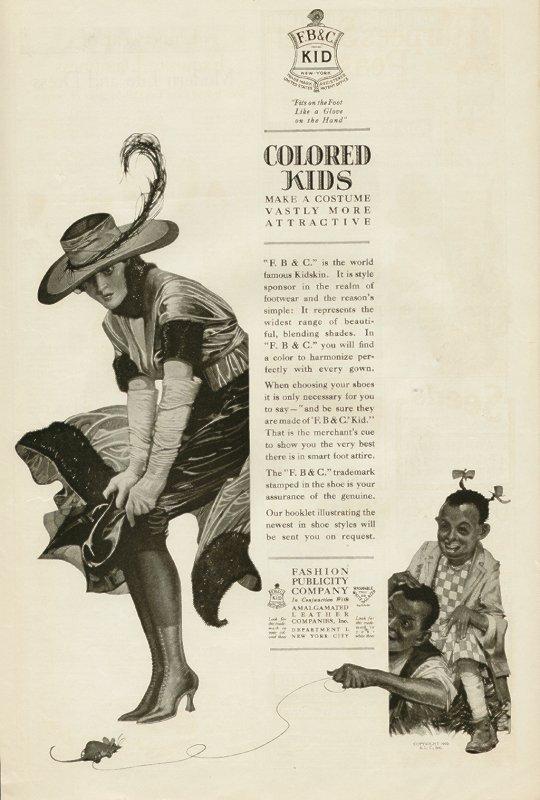 colored kids racist advert