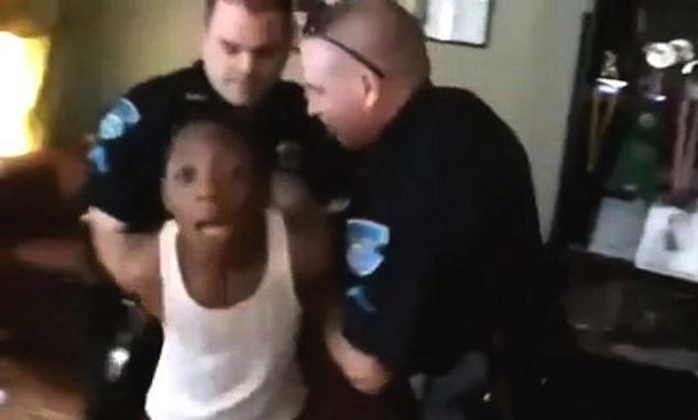 dad arrests son