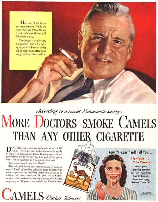 doctors smoke camels advert