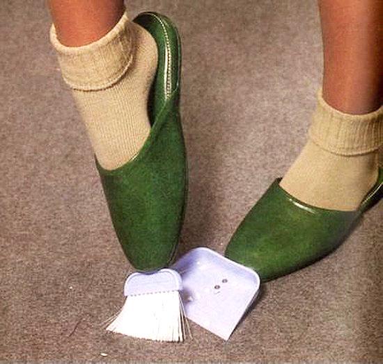 dustpan slippers