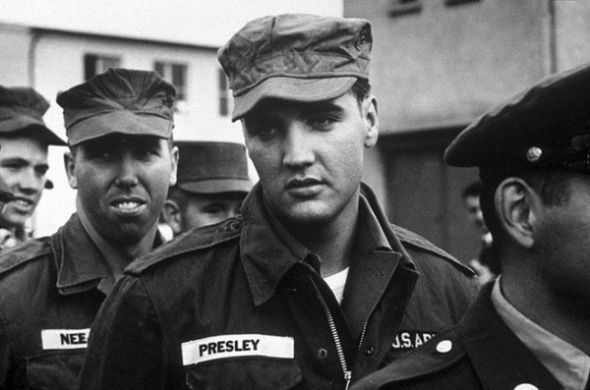 elvis soldier army