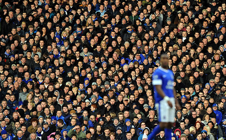 Everton supporters