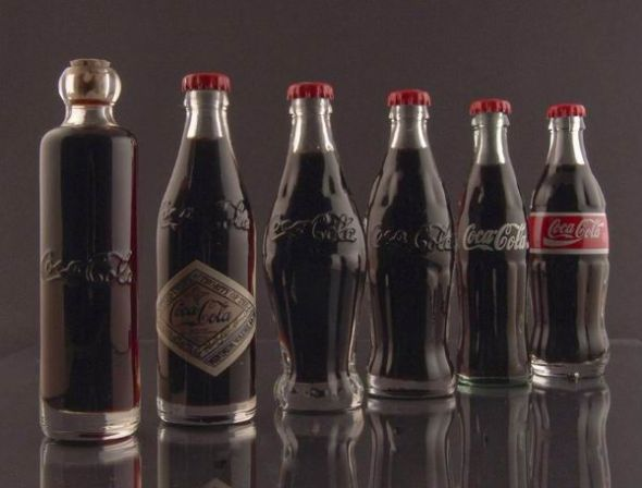 evolution of coke, 1899 - 1986