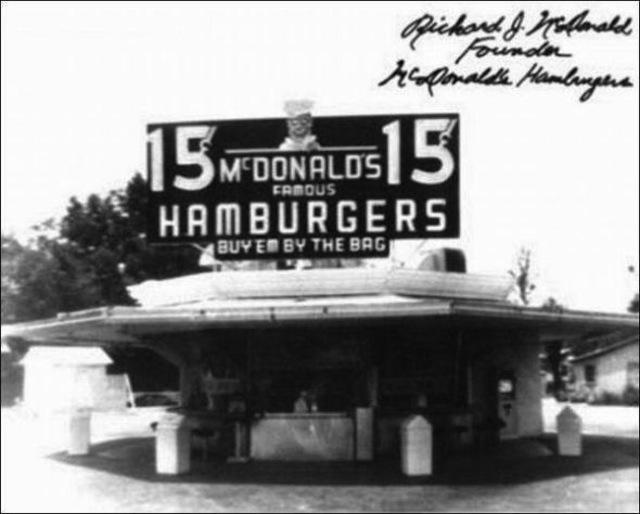 first mcdonalds