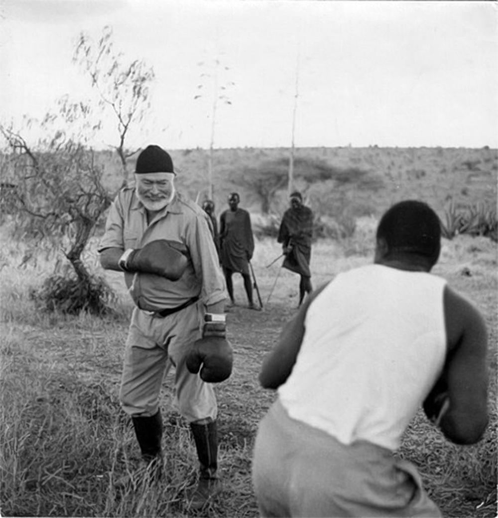 hemingway boxing in africa