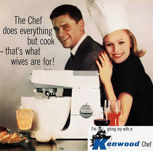 kenwood chef sexist advert