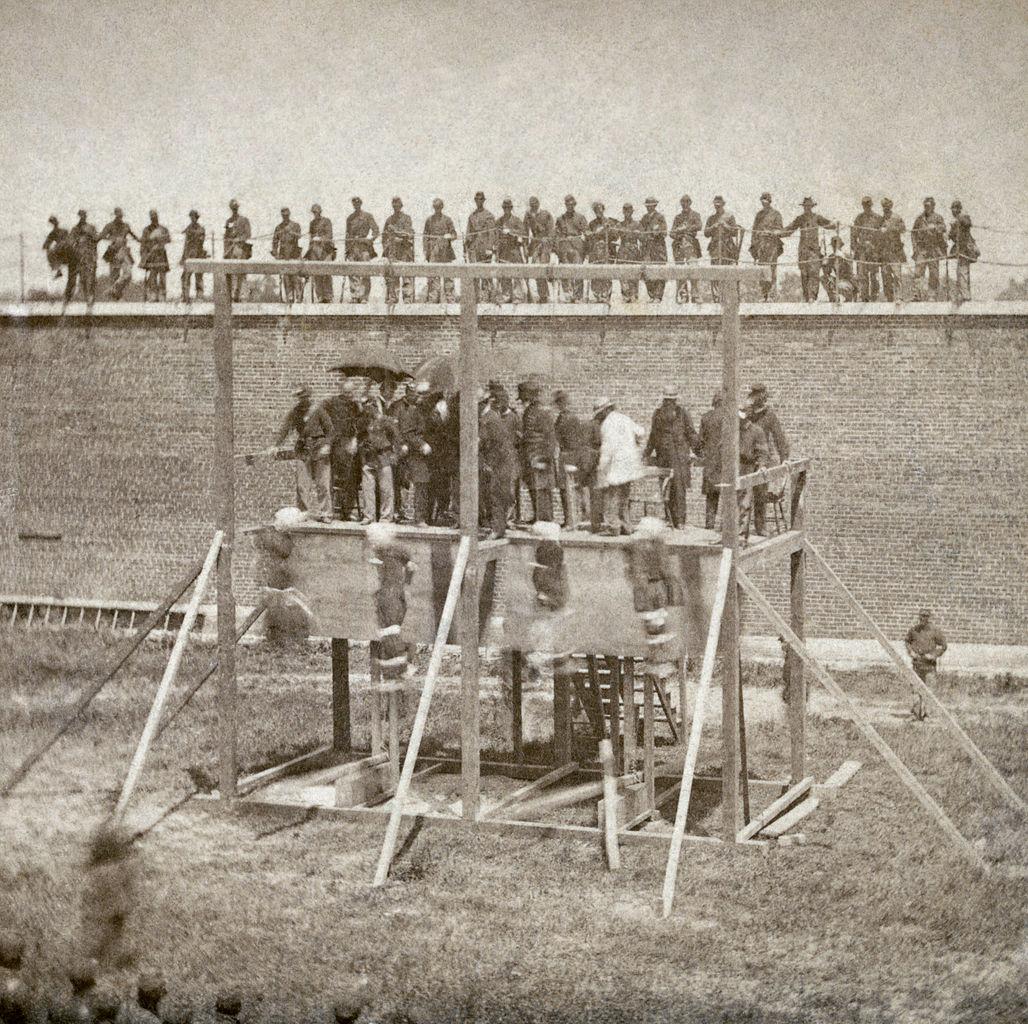 lincoln conspirator execution 1865