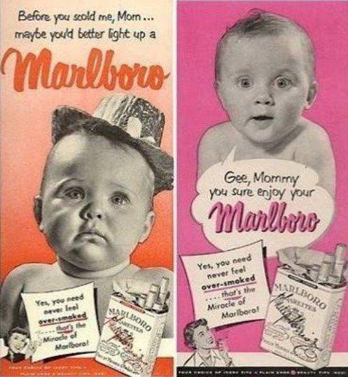 malboro old advert